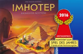 Imhotep nomination SdJ