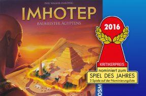 Imhotep nomination SdJ