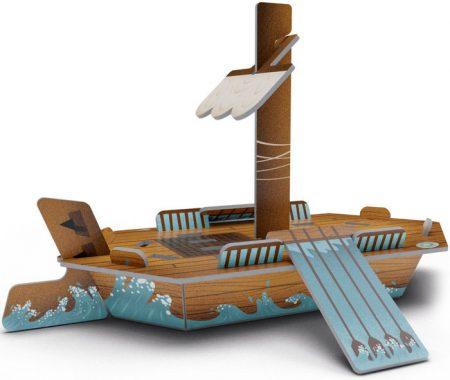 Koning Odysseus the boat