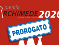 Archimede-2020 prorogato