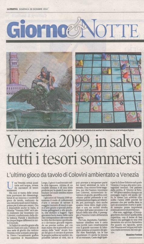 Venezia 2099 - Articolo Nuova Venezia.jpg
